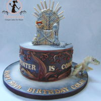 Game Of Thrones Cake Game of thrones cake
