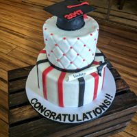 Graduation Cake High school graduation cake.