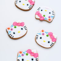 Hello Kitty Dia De Los Muertos Sugar Skull Cookies hello kitty dia de los muertos sugar skull cookies - buttery sugar cookies decorated with royal icing