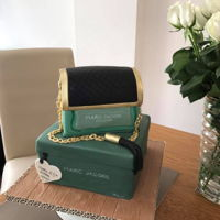 Marc Jacobs Perfume Bottle And Box Cake Marc Jacobs Perfume bottle and box cake