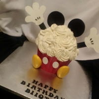 Mickey Mouse Giant Cupcake Giant cupcake mold