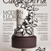 Modern Floral Cake Central Cover Modern Floral Cake Central Cover