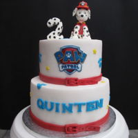 Paw Patrol Cake My first PAW Patrol cake. Some cakes make you smile when you creating them. This is one of those. :-)