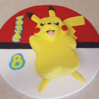 Pikachu Cake Made this for our nephew's 8th birthday.