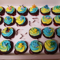 Pokemon Cupcakes Pokemon cupcakes for my nephew's birthday.