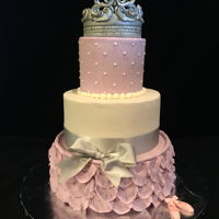 Princess Cake For Sammy Princess Cake for Sammy. The crown is made from fondant.