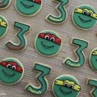 Teenage Mutant Ninja Turtle Cookies Teenage Mutant Ninja Turtle Cookies