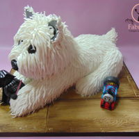 West Highland White Terrier Cake West Highland White Terrier