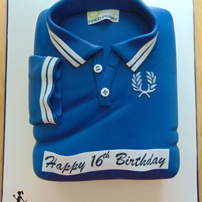 Fred Perry Polo Shirt Cake