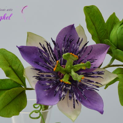 Free Formed Passion Flower