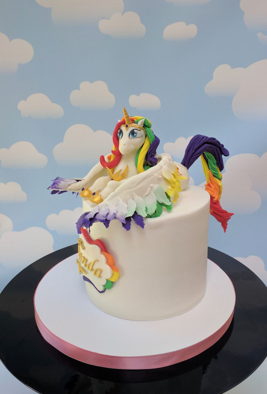 Alicorn Cake on Cake Central