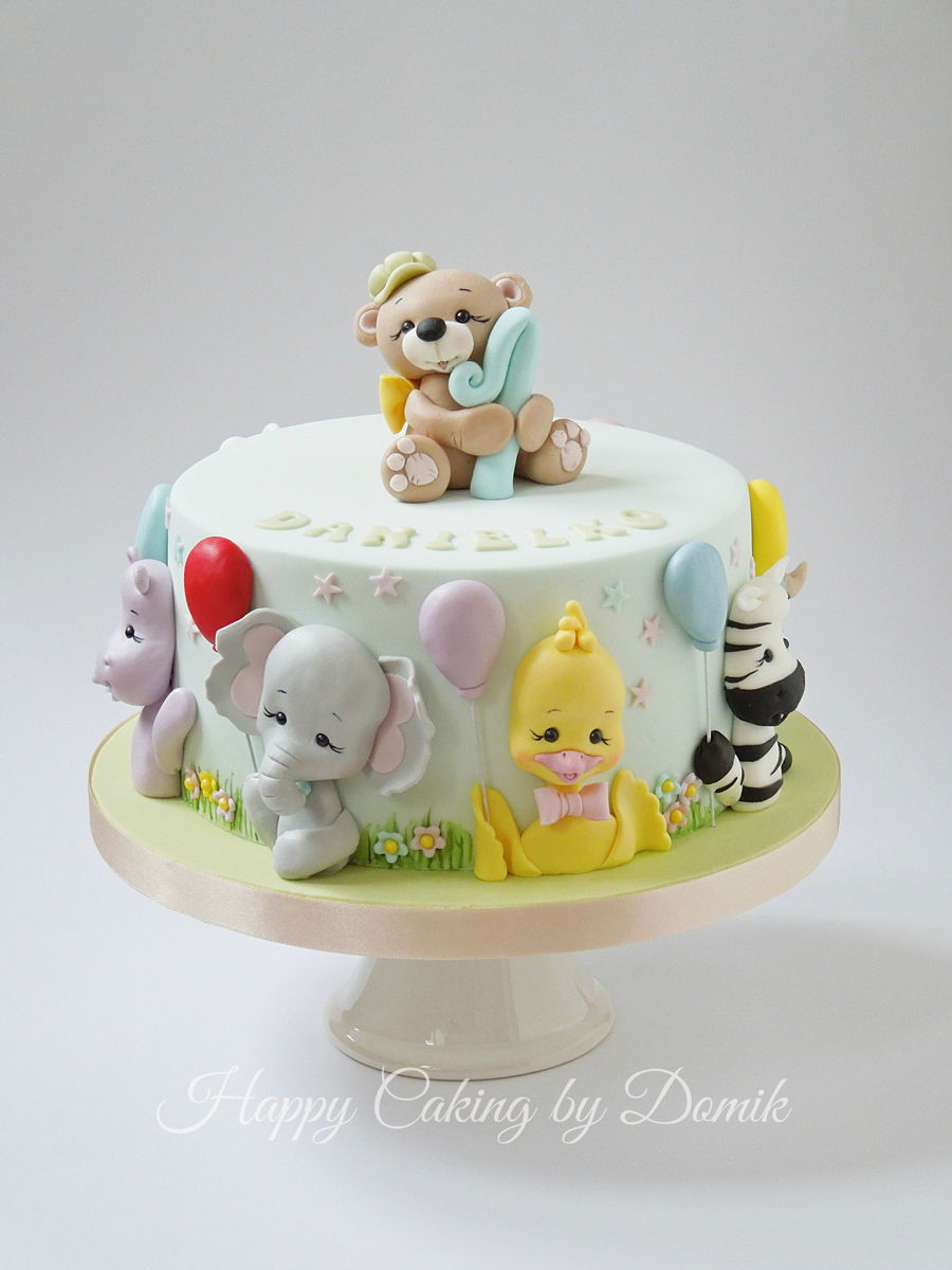 Baby Animals Cake Cakecentral Com