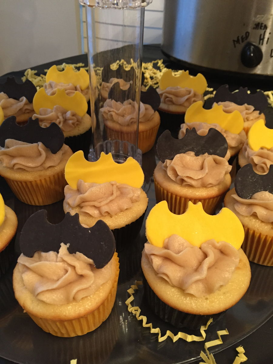 dough frosting candy clay batman toppers batman themed baby shower