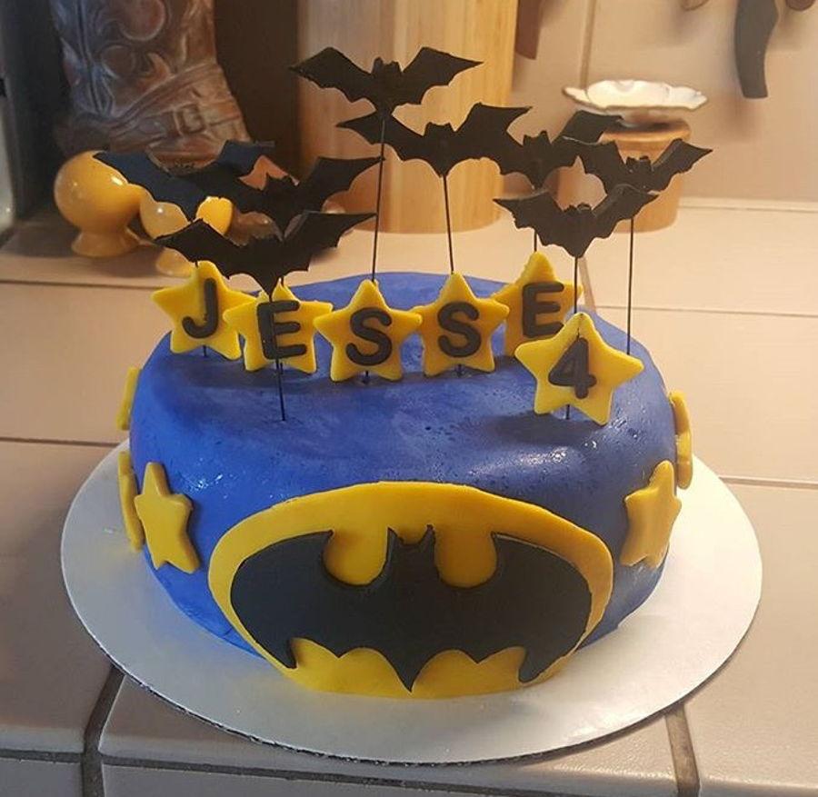 Batman Birthday Cake CakeCentralcom