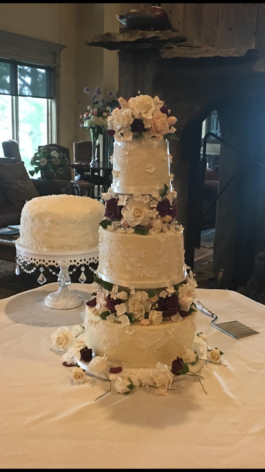 Celebration Cake 60th Wedding Anniversary Amp 80th Birthday