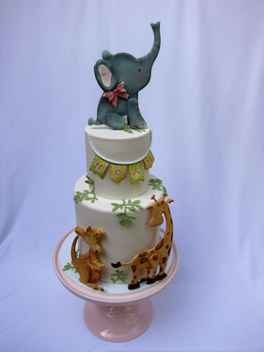 how to make a 3d elephant cake