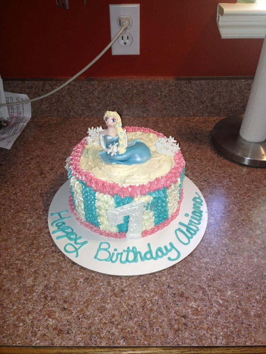 Birthday Cake Images Elsa : Elsa Birthday Cakes - CakeCentral.com