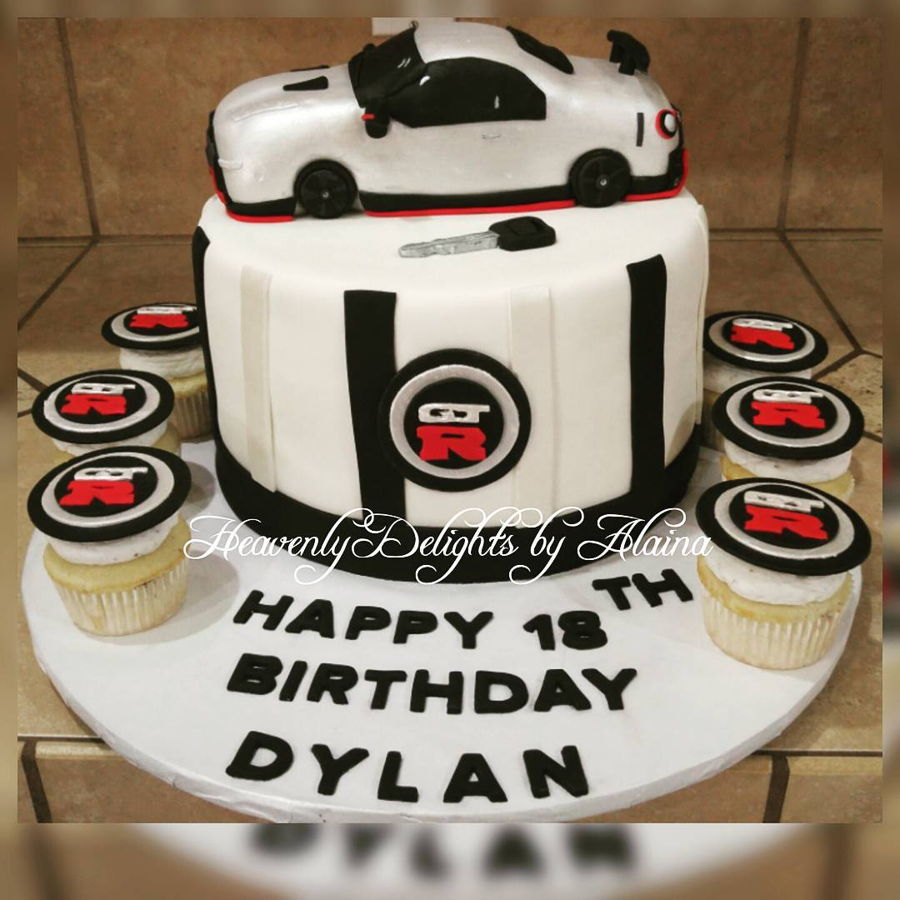 Fast And Furious Birthday Cake
