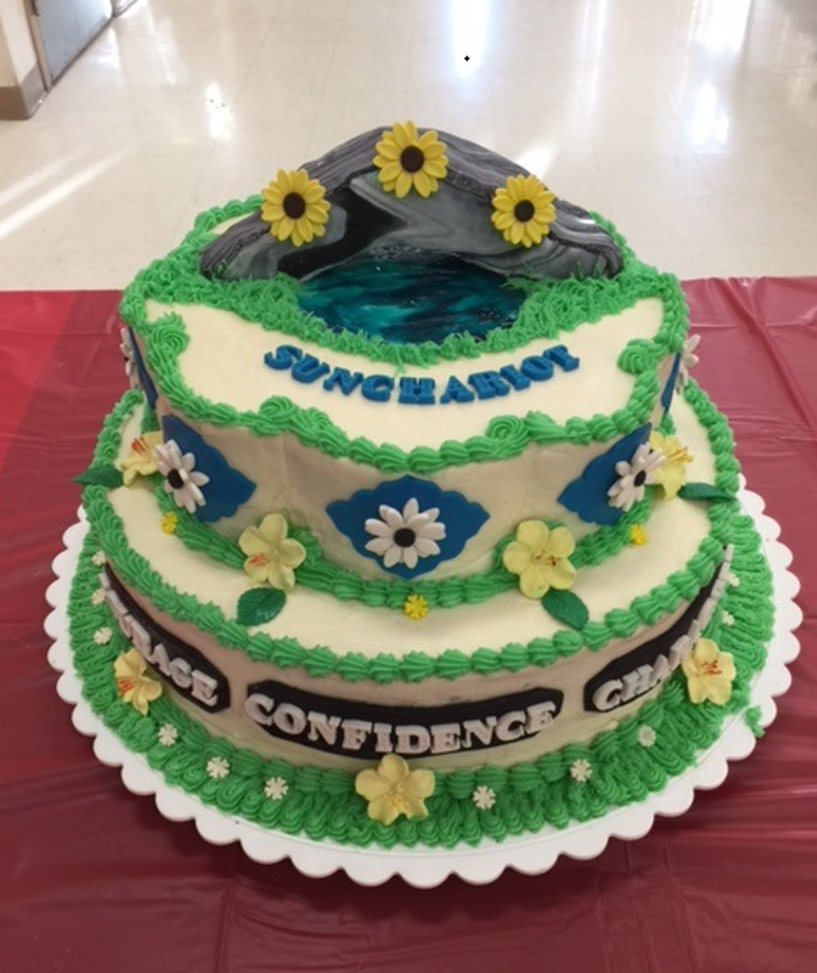 Girl Scout Bridging 2017 on Cake Central