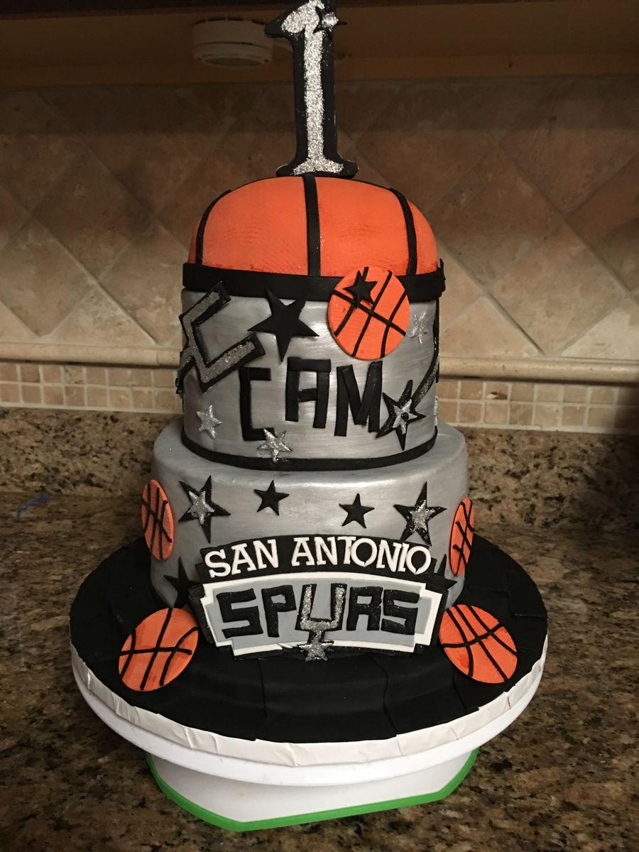 Go Spurs Go Cakecentral