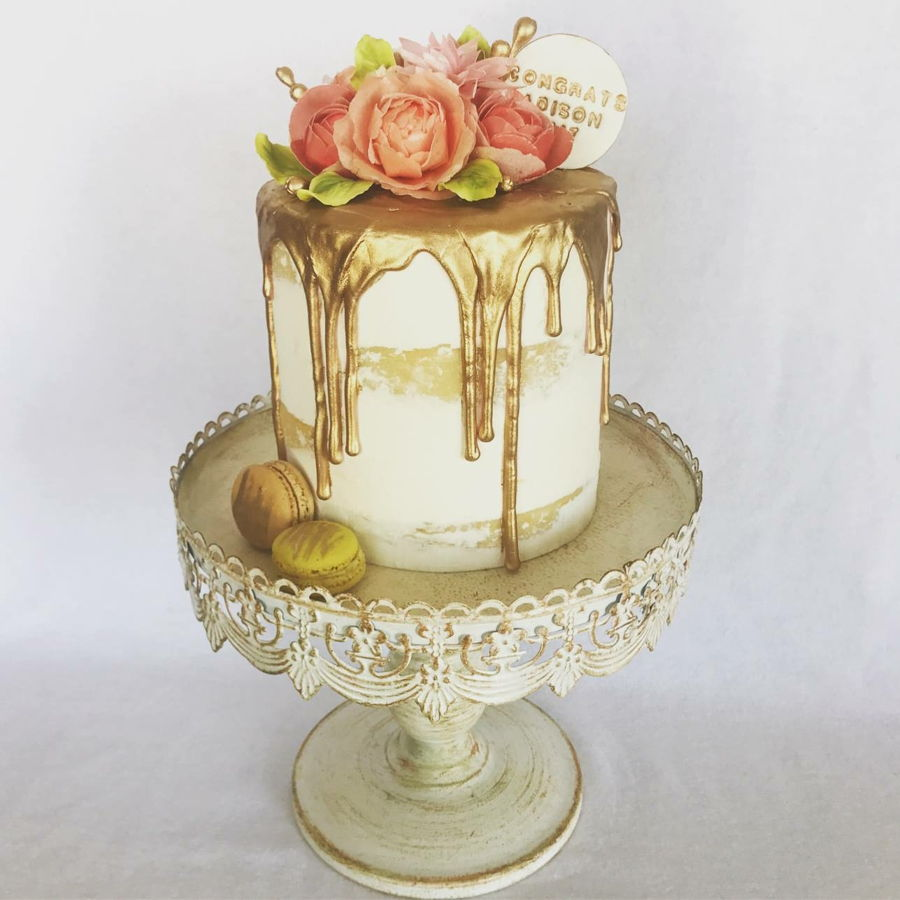 Drip Wedding Cake Recipe