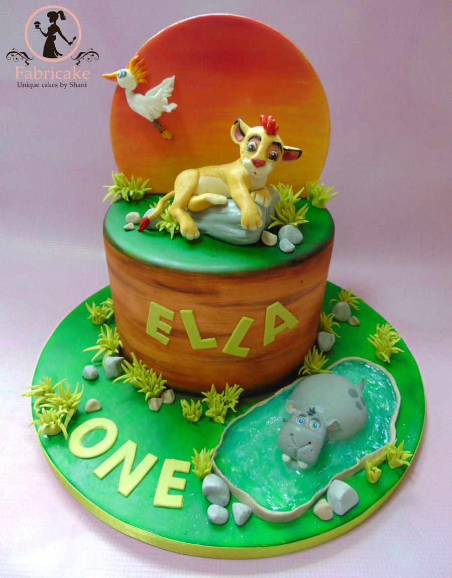 Lion Guard Cake Cakecentral Com