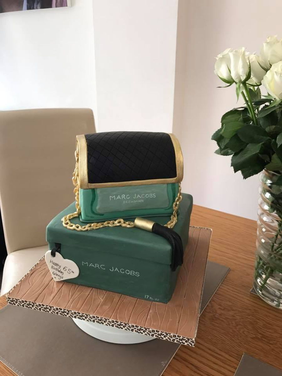 Marc Jacobs Perfume Bottle And Box Cake Cakecentral