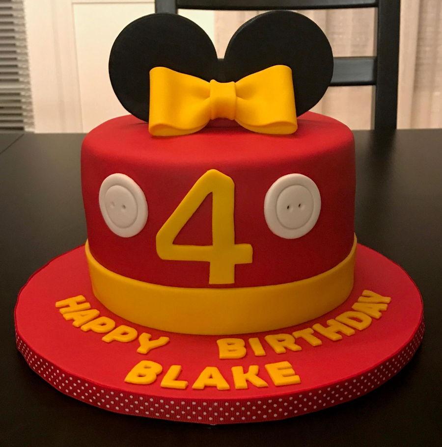 Tremendous Mickey And Minnie Birthday Cakes Cakecentral Com Funny Birthday Cards Online Alyptdamsfinfo