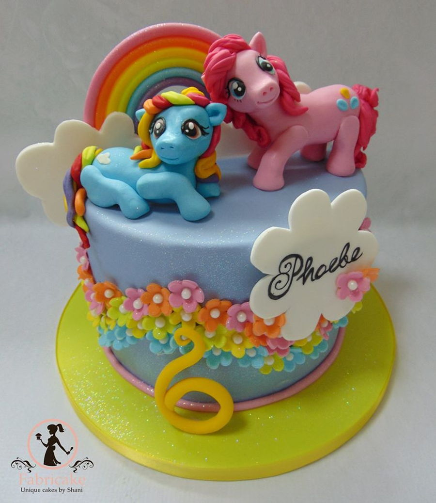 My Little Pony Rainbow Birthday Cake