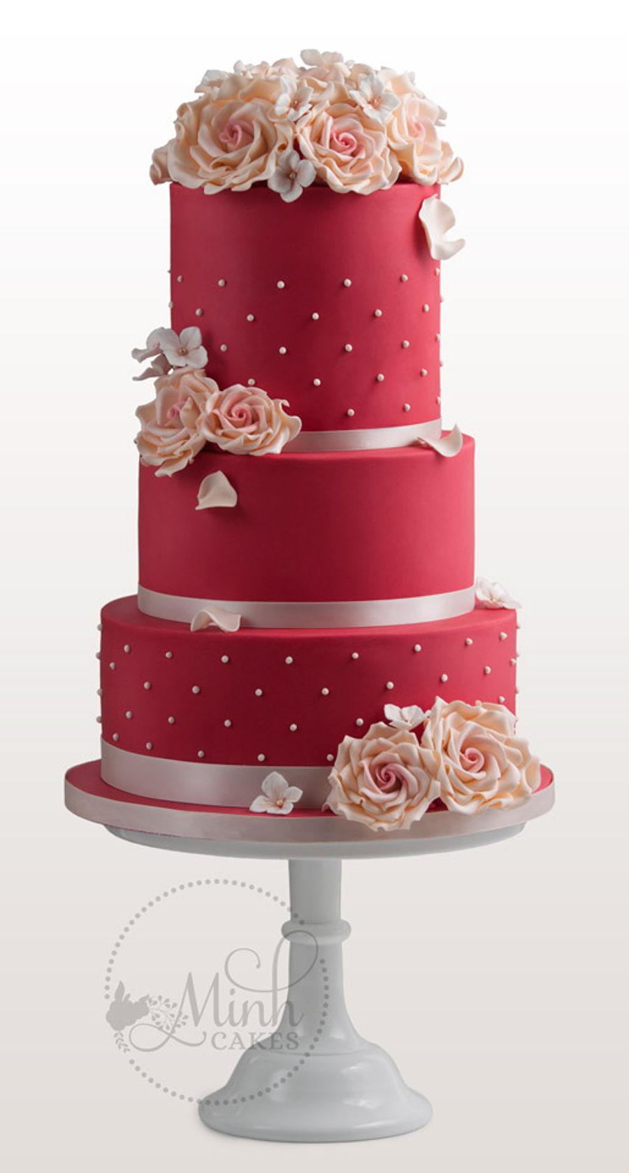 Ruby Wedding Cakes Designs