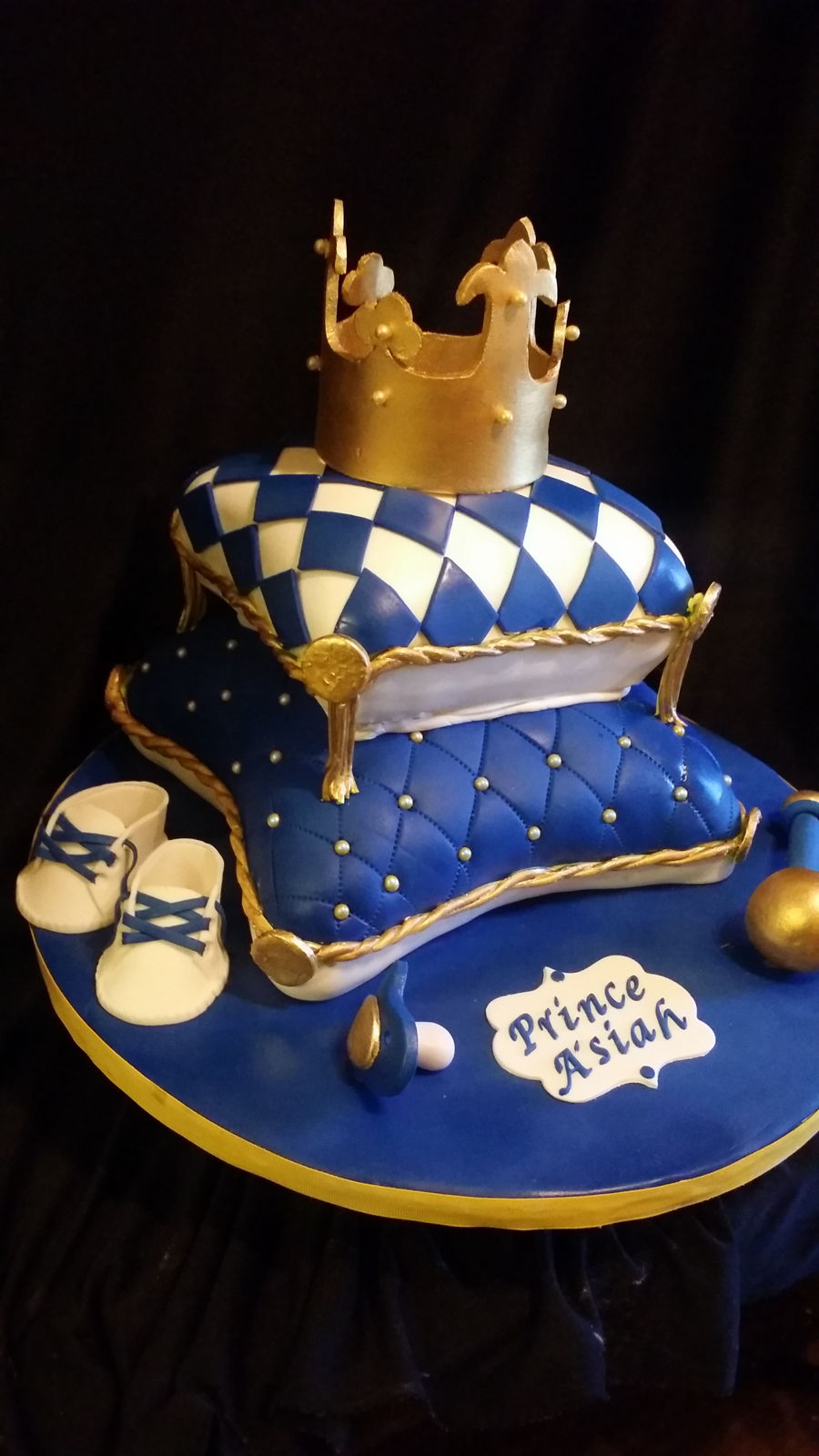royal prince baby shower cake royal baby shower cake cakecentral 7170