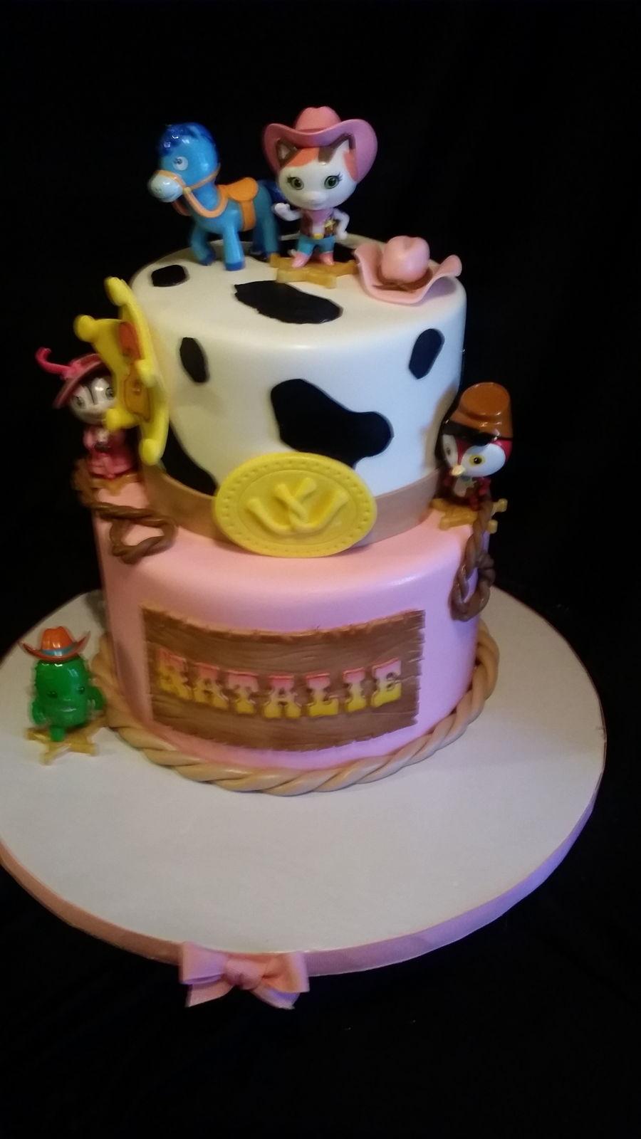 Sheriff Callie Birthday Cake Cakecentral Com