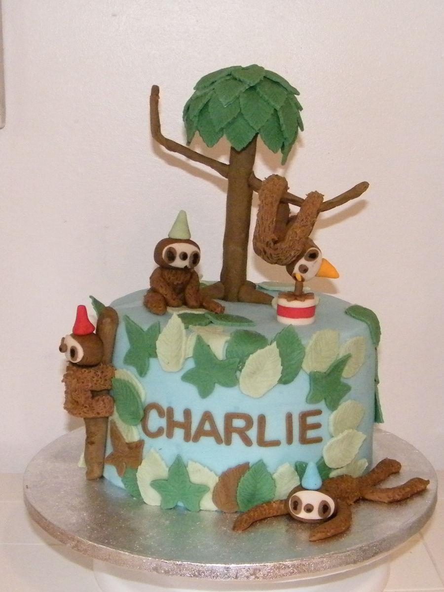 Sloth Cake Recipe