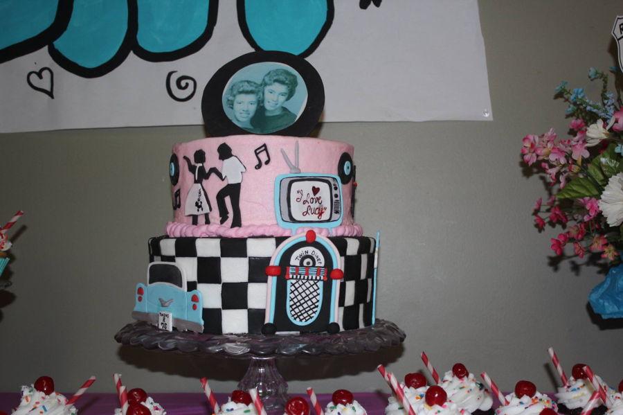 Sock Hop Cake Cakecentral Com