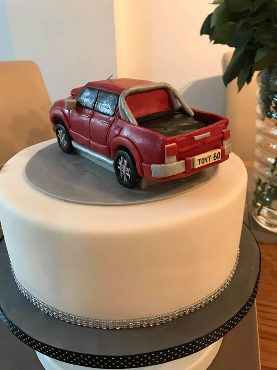 Toyota Hilux Invincible Truck Cake Cakecentral Com