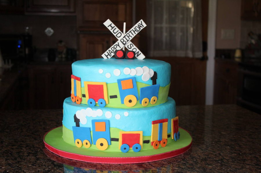 Trains, Trains, Trains on Cake Central