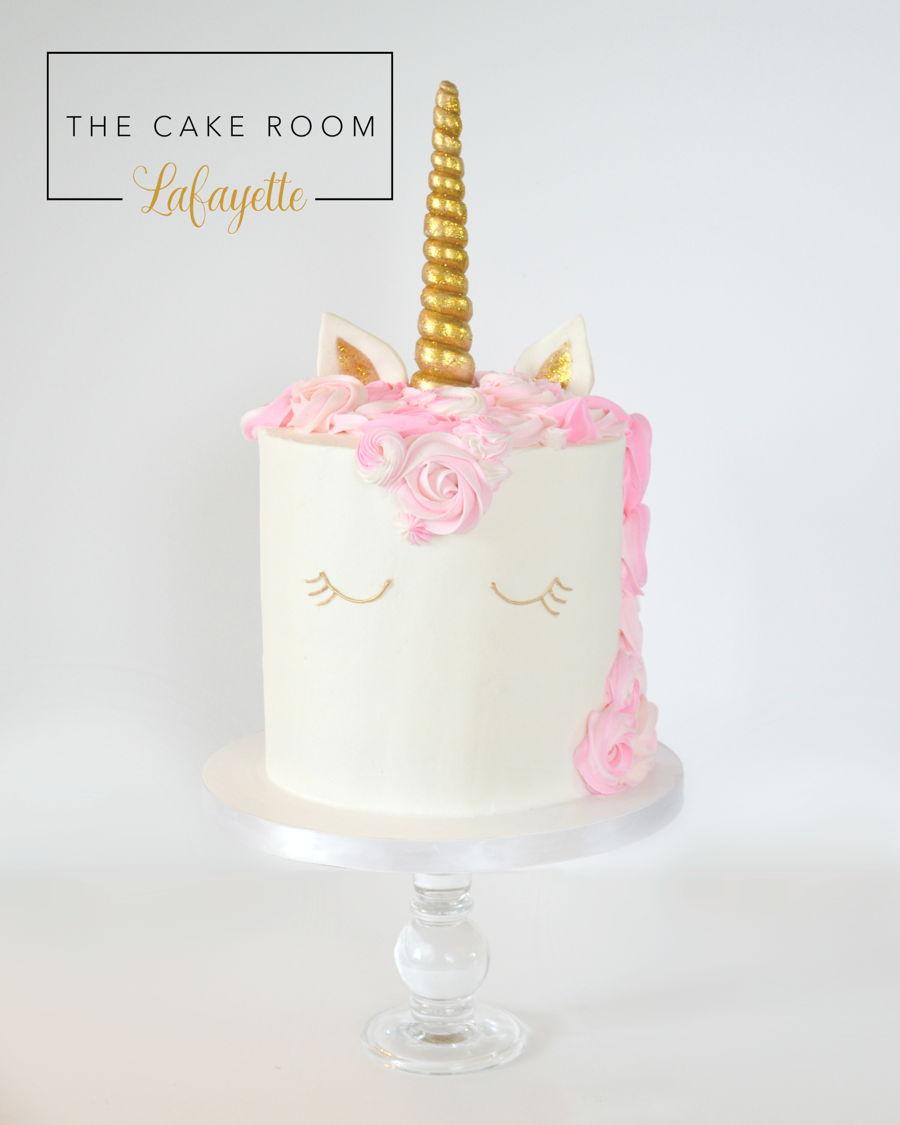 Unicorn Buttercream Cake Cakecentral Com