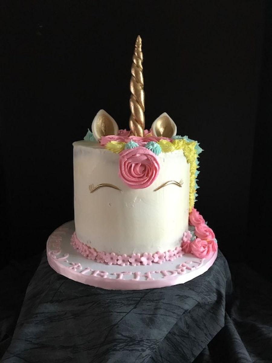 Unicorn Theme Cake Cakecentral Com