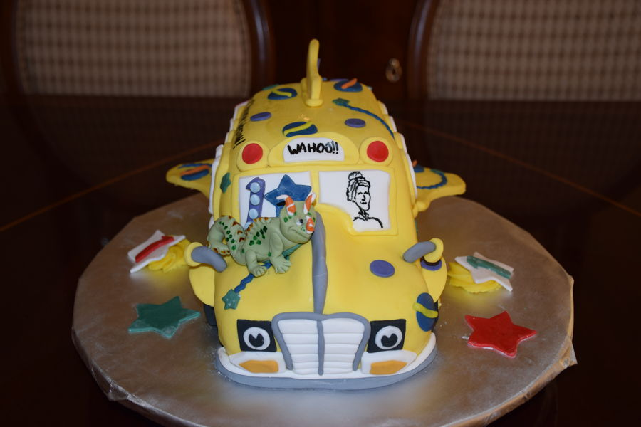 Magic School Bus Cake Recipe
