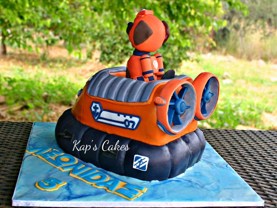 Zuma Paw Patrol Cake Cakecentral Com