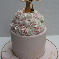 Among The Roses This was made for a friend who makes bridal bouquets with roses and brooches.