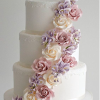 Flower Cake Image to link to post