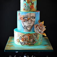 Steam Cakes - Steampunk Collabpration To celebrate the Steampunk International Day, Cake Artists from around the world gathered for a Steampunk Collaboration to be revealed on...