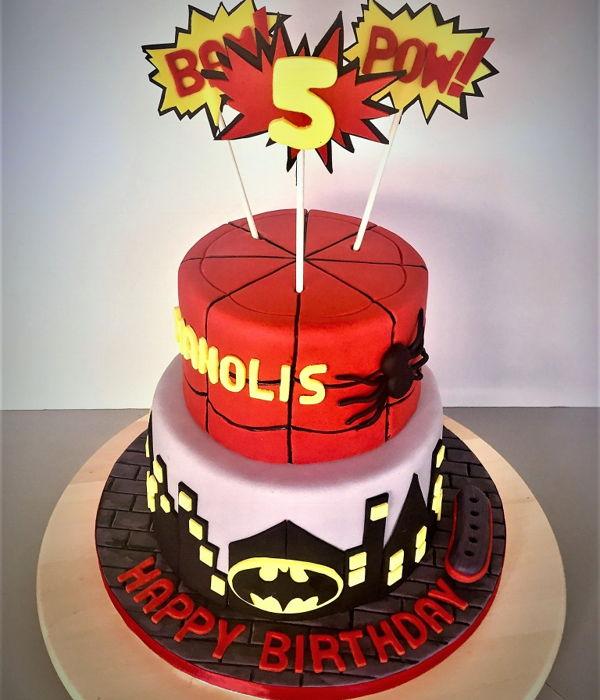 Spiderman Cake Decorating Photos