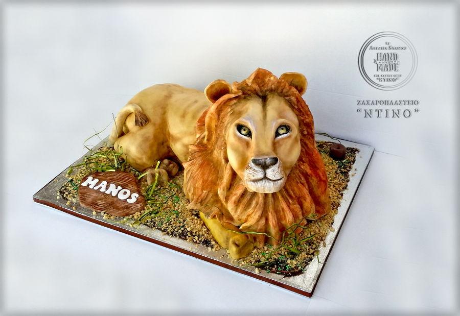 3d lion cake cakecentralcom