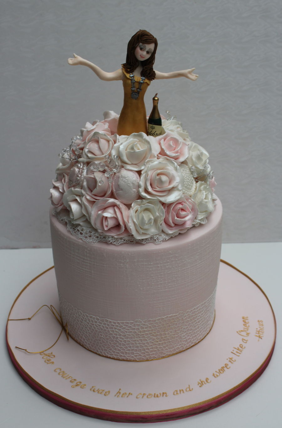 Among The Roses on Cake Central