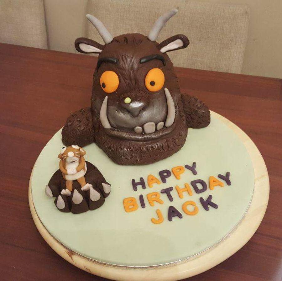 Gruffalo Cake Cakecentral Com