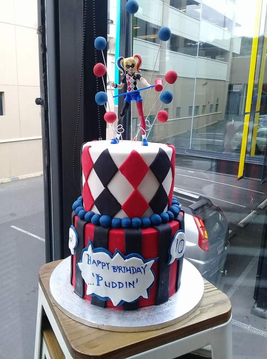 Harley Quinn And Joker Birthday Cake