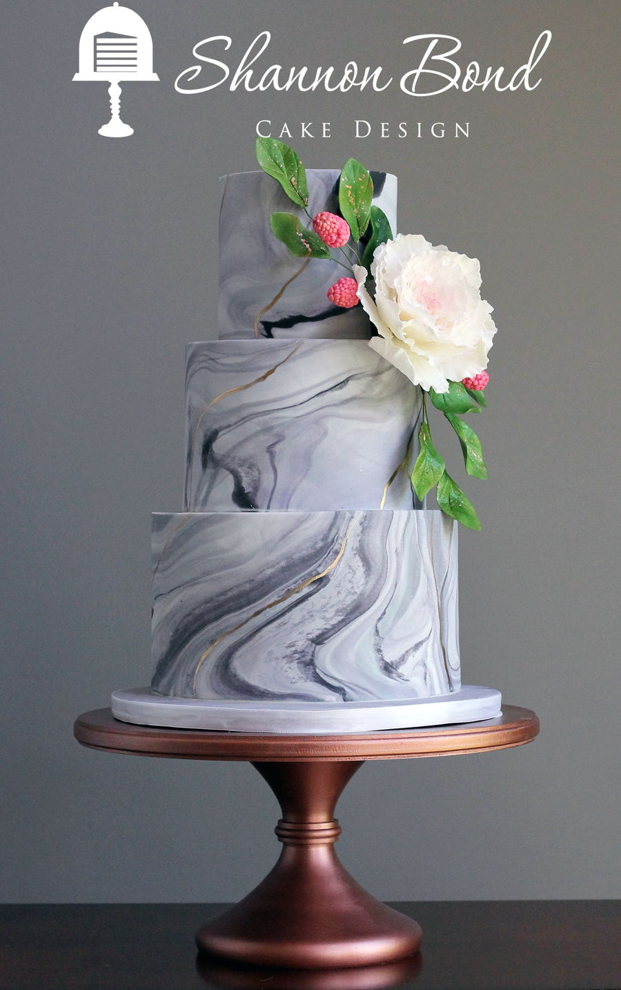 Marbled Wedding Cake Cakecentral Com