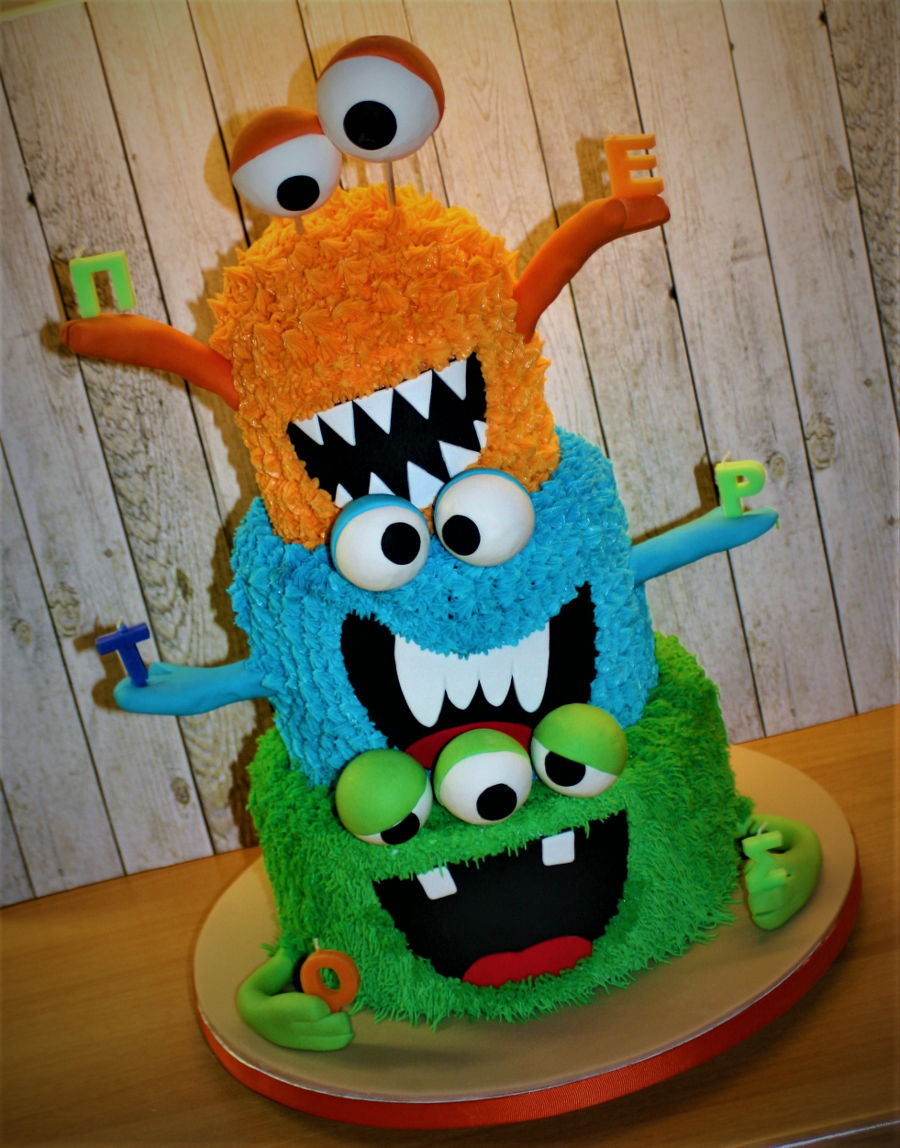 Monsters Cake on Cake Central